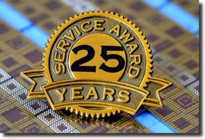 25 Year Service Award Badge